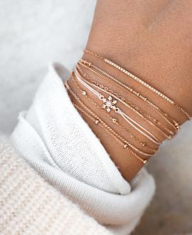 TOPAZ SNOWFLAKE  Armband Silber