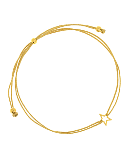 STAR  Armband Gold