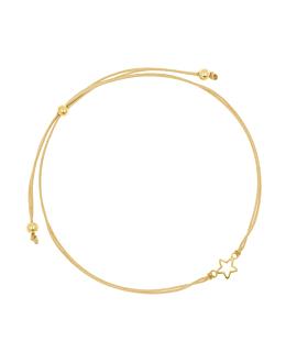 MINI WISHING STAR|Armband Gold