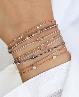 WISHING STAR  Armband Rosé