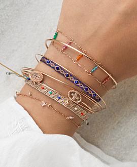 CAPRI  Armband Blau