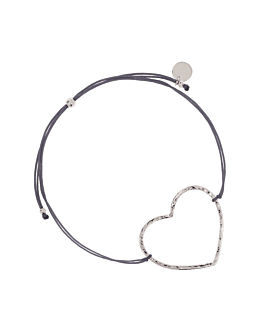 HEART|Armband Anthrazit