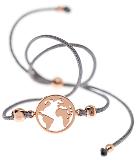 EARTH|Armband Anthrazit