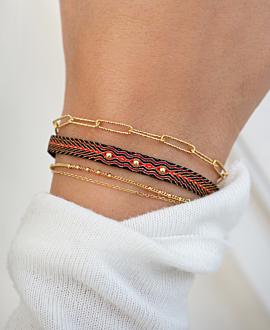 VIBRANT MIX  Armband Rot
