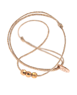 ROSE SHINE Armband Beige