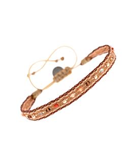 FÈS|Armband Braun