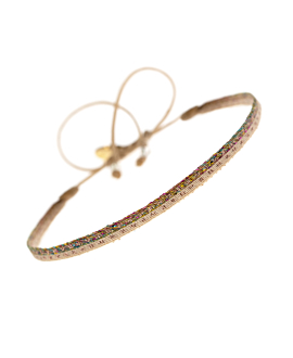 CANDENCIA Armband Beige