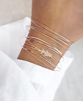 FLORA  Armband Rosé