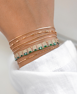 LETITCIA  Armband Türkis