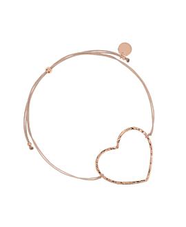 HEART Armband Rosé