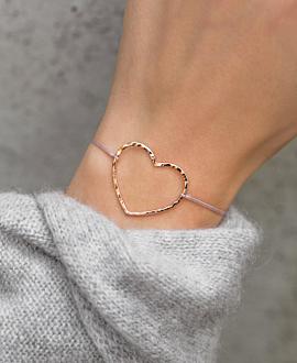 HEART|Armband Rosé
