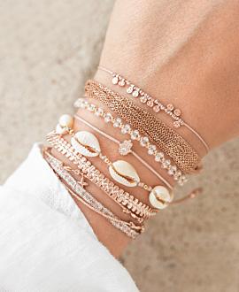 GEMA  Armband Weiß