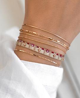 LETITCIA  Armband Pink