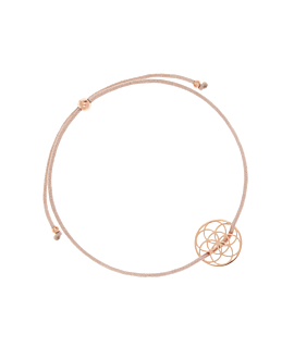 FLOWER OF LIFE|Armband Beige