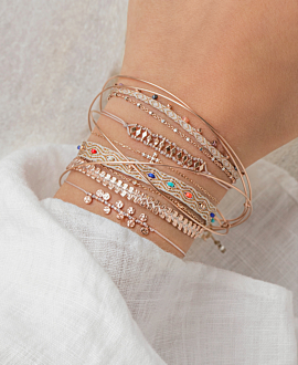 DELPHI Armband Rosé