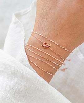 AMOR Armband Rosé