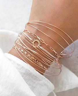 SOLE  Armband Rosé
