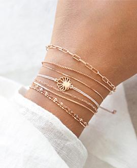 FLEUR Armband Rosé