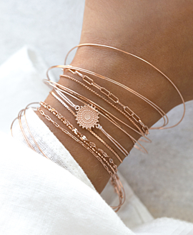 SOLEIL  Armband Rosé
