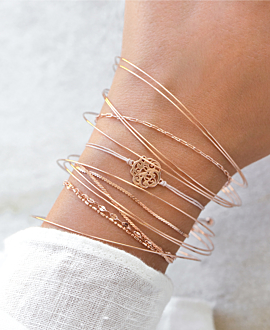 VAGUE Armband Rosé