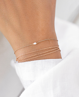 MINI PEARL BRACELET ROSE