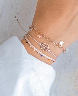 SWEET SIXTEEN Armband Rosé