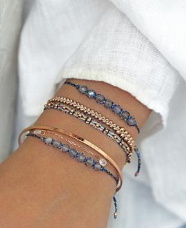 CALI  Armband Silber