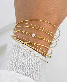 ESSENTIAL  Armband Gold