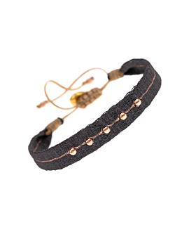 ETHNO|Armband Dunkelgrau