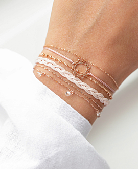 BOHEMIAN VIBE  Armband Beige