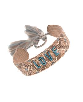 LOVE|Armband Textil