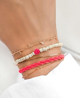 BOHEMIAN VIBE  Armband Pink