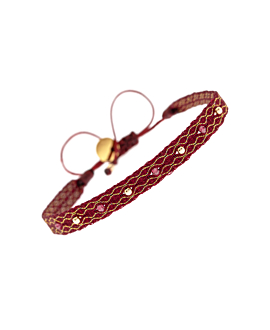 FESTIVE|Armband Bordeaux
