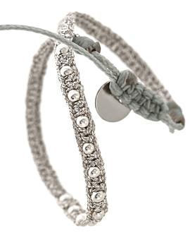 BOHO  Armband Silber