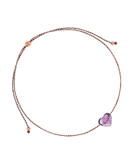 HEART Armband Violett