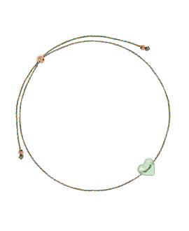 HEART Armband Grün