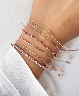 MUISCA  Armband Rot