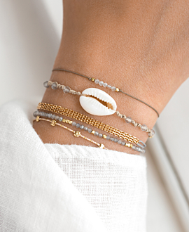 GEMMY KAURI  Armband Beige