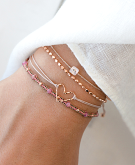 MONDSTEIN Armband Rosé