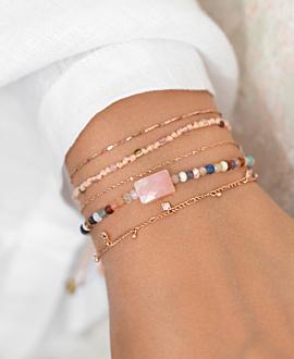 OPAL Armband Rosa
