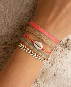 TRIBUTE  Armband Pink