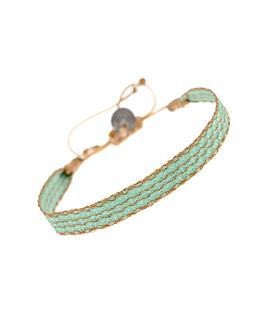 TRIBUTE|Armband Mintgrün