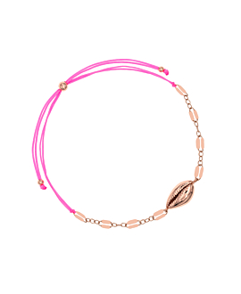 GLOWING SHELL|Armband Rosé