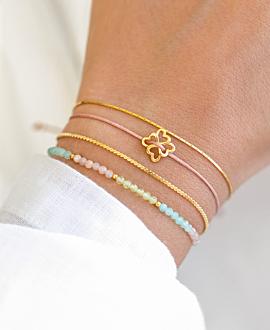 HEARTS Armband Gold