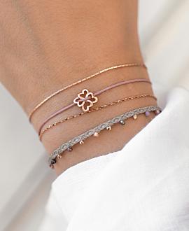 HEARTS Armband Rosa