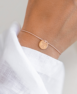 STRONG TOGETHER  Armband Rosé