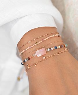 BOHO TOURMALINE Armband Peach