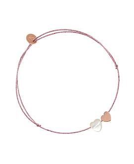 VERSATILE HEARTS  Armband Rosa