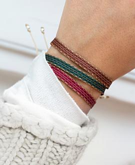 TRIBUTE Armband Grün