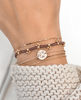 GYPSY PAW  BRACELET BROWN
